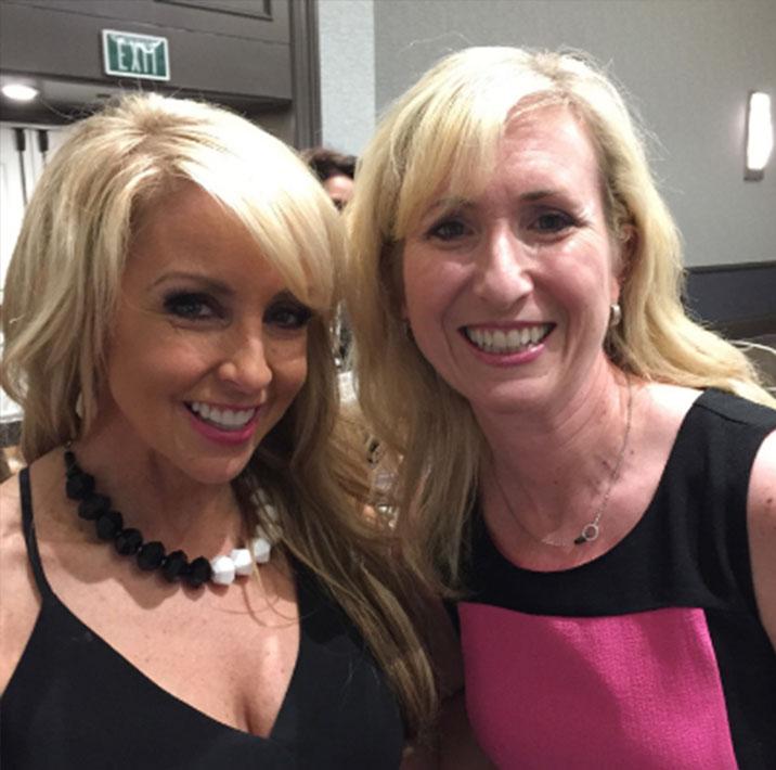 Natalie with Chalene Johnson
