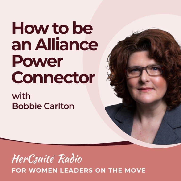 How to be an Alliance Power Connector with Bobbie Carlton