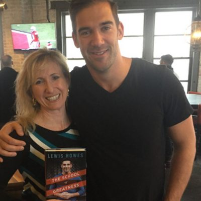 Natalie with Lewis Howes